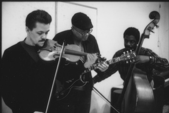 Nolet, Hopkins, Nix Trio 1990's L-R: Jim Nolet, Bern Nix, Fred Hopkins